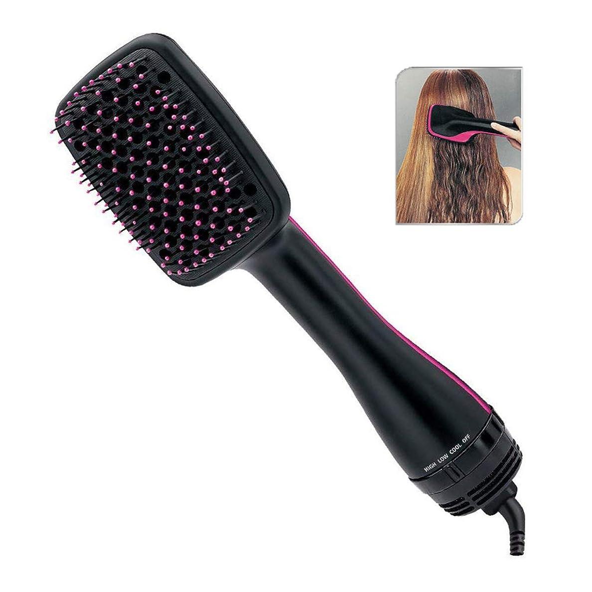 やけど雄弁な侵略すべての髪型のためのプロの髪の櫛、ヘアドライヤーブラシヘアカーラー、イオンセラミックロータリーヘアドライヤーコーム、ワンステップヘアドライヤーとスタイリング櫛