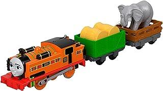 Thomas & Friends - Locomotora Nia y Elefante, Juguetes Niños +3 Años (Mattel FJK56)