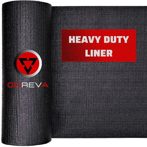 ONREVA Toolbox Drawer Liners, Professional Grade Tool Box Liner 16 inch Wide x 16 ft, Rolling Tool Chest Liner Roll Mat, Nonslip Heavy Duty Perfect for Protecting Your Tools, Tool Cart with Drawers