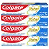 Colgate Total Whitening Toothpaste with Stannous Fluoride and Zinc, Exclusive, Whitening Mint, 4.8 Oz (Pack of 4) - 7.32 with S & S