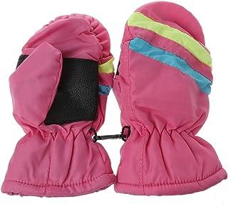 ff8e59bdd41 2-5y Baby Mitten Winter Kids Boys Girls Outdoor Warm Gloves Waterproof  Windproof