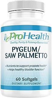 ProHealth Pygeum/Saw Palmetto (60 Medium softgels)