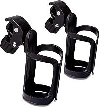 NAGO Stroller Cup Holder 2 Pack. Universal 360 Degrees Rotation. Bike Cup Holder. Stroller Accessories Cup Holder. Cup Drink Holder for Stroller, Bike, Wheelchair
