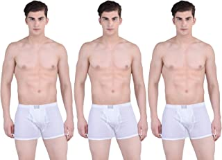 Pack of 10 Force NXT Mens Multi-Colored Cotton Classic Trunk