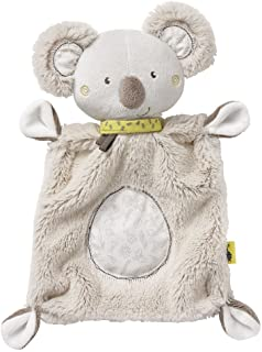Fehn Fehn 064056 Schmusetuch Koala – Schnuffeltuch mit Koala-Köpfchen – Zum Kuscheln für Babys und Kleinkinder ab 0 Monaten – Maße: 27 cm