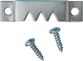 Heavy Sawtooth Hangers with Screws - 50 Pack - Heavy Picture Hangers - Picture Hang Solutions