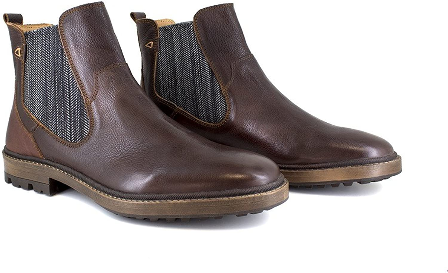 Peter Blade Low Boots Brown Leather Odin E brown
