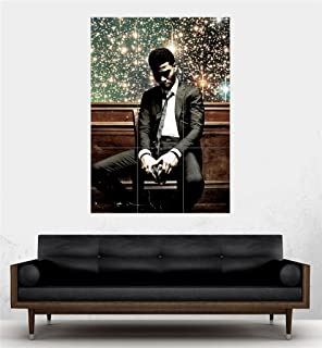 Doppelganger33LTD Kid CUDI Man ON Moon Album Art Giant Hip HOP Poster Print PE424