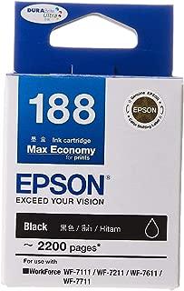 Epson T188 Black DuraBrite Ultra Ink