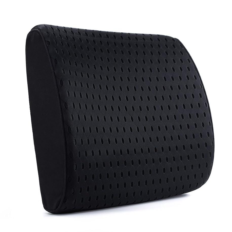 和らげる失礼なバクテリアAoomiya 腰痛 クッション 車腰痛クッション 3D立体カバー 風通しの良い ランバーサポート 腰痛対策 背当て 背もたれ 運転 オフィス 健康クッション