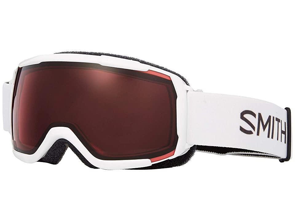 Smith Optics Grom CP Goggle (Youth Fit) (White/Chromapop Everyday Rose) Snow Goggles