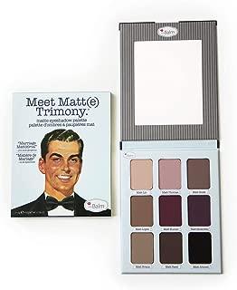 theBalm theBalm Cosmetics Meet Trimony Matte Eyeshadow Palette