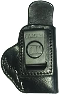 Tagua Gunleather Softy Inside The Pant Holster fits S and W Bodyguard 380, Black, Right Hand