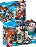 Bundle Playmobil Novelmore 70499 70503 - Juego de 2 caballeros y accesorios
