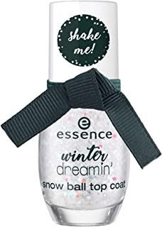 Essence Winter Dreamin' Snow Ball Top Coat - 01 Snow Ball Top Coat, Pack of 1