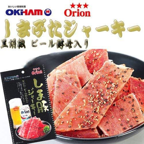 沖縄ハム総合食品オキハム『オリオンビールしま豚ジャーキー』