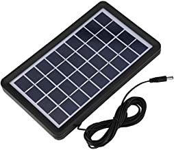 Diyeeni Solar Board,9V 3W High Conversion Rate Poly Silicon Solar Cell Waterproof Solar Board with Multi-Level Protection,high Light Transmittance