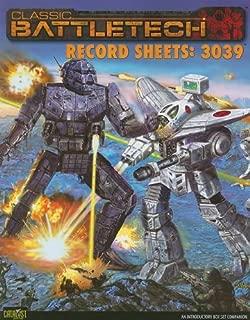 Battletech Record Sheets 3039 *OP*