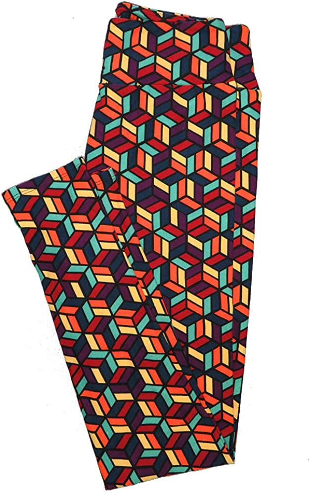 Lularoe One Size OS Animals Stars and Objects Leggings (OS fits Adults 2-10) OS-4093-O