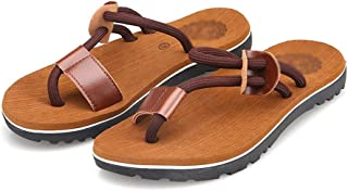LUKEEXIN Flip-Flops, Slippery, Men's Sandals
