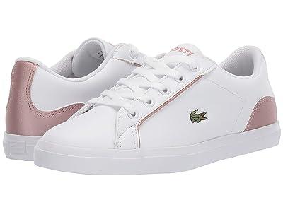 Lacoste Kids Lerond 319 2 (Little Kid) (White/Pink) Kid