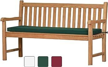 Bankauflage 100-140 cm Bank Auflage Sitzkissen Sitzauflage Gartenbank Polster