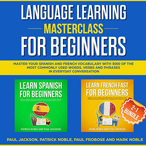 Language Learning Masterclass for Beginners: 2-1 Bundle cover art