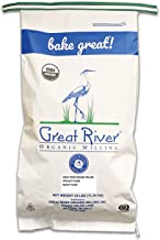 product image for Great River Organic Milling, Specialty Flour, Barley Flour, Stone Ground, Organic, 25-pounds (Pack of 1)