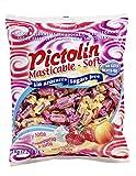 fruchtige Pictolin Masticable Soft - Kaubonbons ohne Zucker - 1