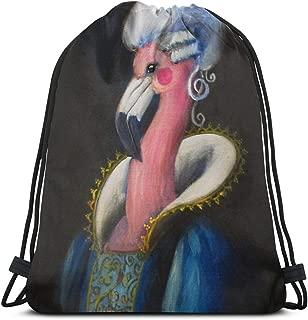 Marie Antoinette Shoulder Drawstring Bag Backpack String Bags School Rucksack Gym Sport Bag Lightweight