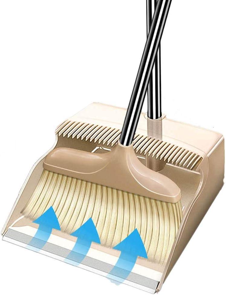 NLIAN- Dustpan Milwaukee Mall and Brush Extra Handle Broom 76 Long Outstanding