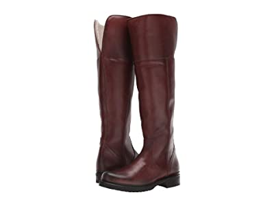 Frye Veronica Shearling Tall (Redwood) Women