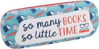 Glasses Case Twenty Twenty - So Many Books So Little Time - Fun Novelty Design