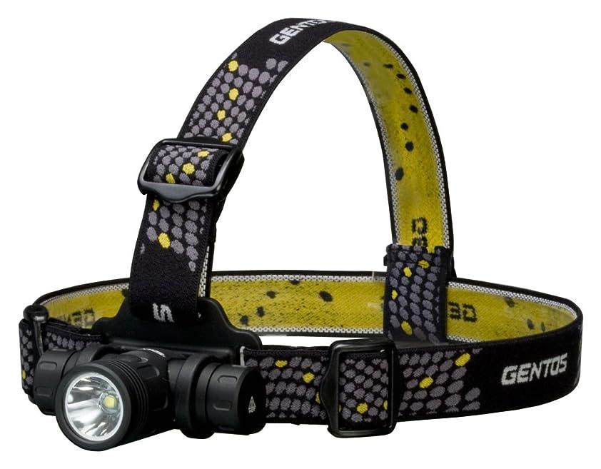 突進防止海外GENTOS(ジェントス) LED ヘッドライト 【明るさ520ルーメン/実用点灯3時間/1m防水】 CR123Aリチウム電池2本使用 T-レックス TX-540XM ANSI規格準拠