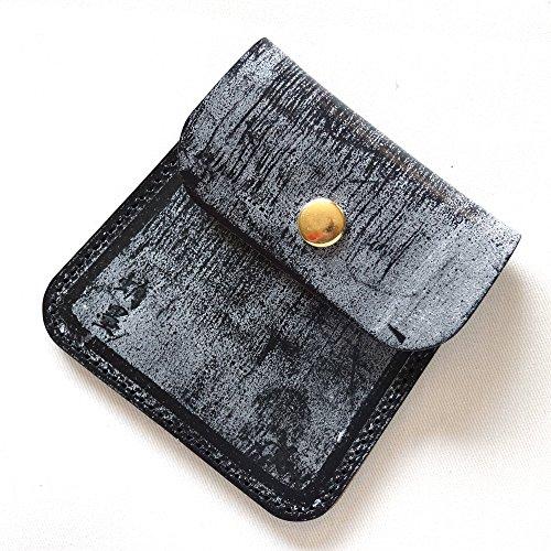 革蛸謹製 台形携帯灰皿 (蛸墨)