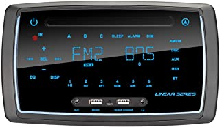 Magnadyne RV6200 AM/FM/BT/DVD Wall Mount Multimedia Receiver (RV5090 Direct Replacement)