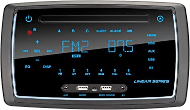 $186 » Magnadyne RV6200 AM/FM/BT/DVD Wall Mount Multimedia Receiver (RV5090 Direct Replacement)
