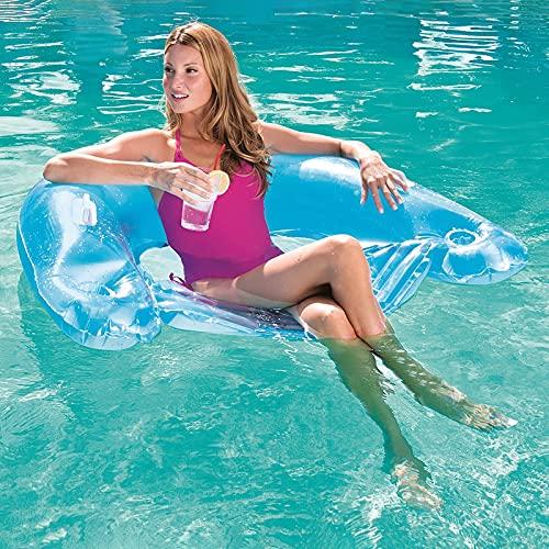 jingxing Wasser Hängematte Recliner Schwimmbad Aufblasbare Matte Schwimmbett Stuhl Faltbare Sommer Schwimmen Luftmatratze