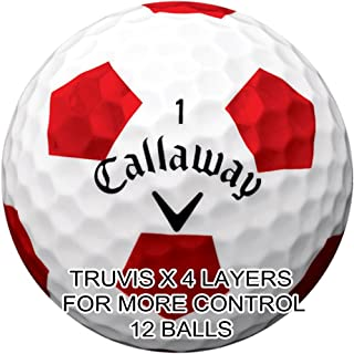 New Callaway Chrome Soft Golf Balls - Made in the USA ( 12 Pack) Choose Your Color