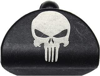 Sure Plug 1 Laser Engraved Skull - Designed for Gen 1-3 Glock 17, 19, 22, 23, 31, 32, 34, and 35.
