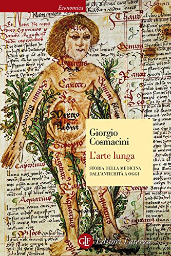 L'arte lunga: Storia della medicina dall'antichità a oggi (Economica Laterza)