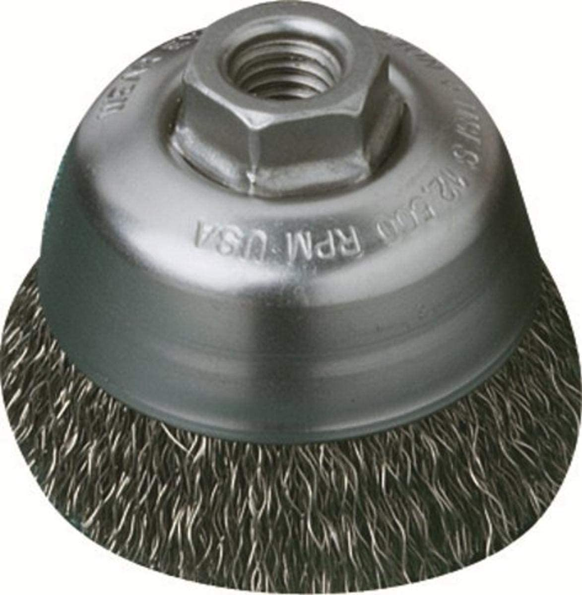 United Abrasives-SAIT 03422 2-3 OFFicial mail order 4-Inch by 1.25 .014-Inch Knot Atlanta Mall