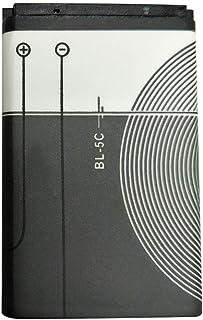 Swiftswan Ersättningsbatteri litiumbatteri 1020 mAh 3,7 V batteri för Nokia bl-5c hållbara verktyg