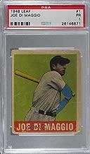 Joe DiMaggio Graded PSA 1 PR (Baseball Card) 1948 Leaf - [Base] #1