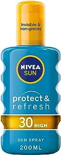 NIVEA, Sun Mist, Protect & Refresh Cooling, SPF 30, 200ml