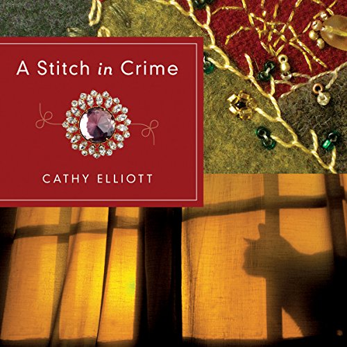 A Stitch in Crime audiobook cover art