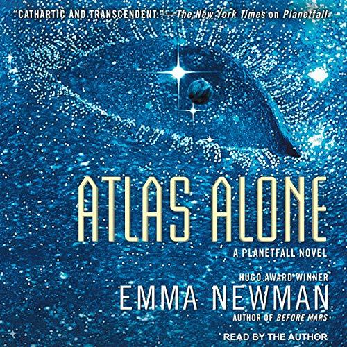 Atlas Alone audiobook cover art
