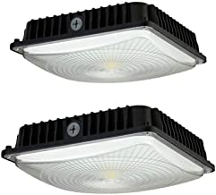 CYLED 100W LED Canopy Light Industrial Waterproof Explosion-Proof Outdoor High Bay Balcony Car Park Lane Gas Station Ceili...