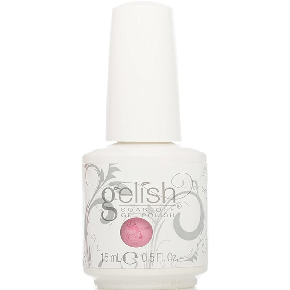 原油育成扇動Harmony Gelish Gel Polish - Look At You, Pink-achu! - 0.5oz / 15ml