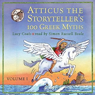 Atticus the Storyteller's 100 Greek Myths Volume 1 cover art